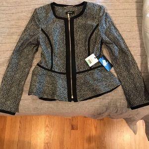 NWT DKNY peplum blazer size 8